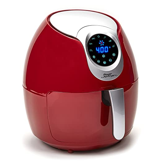 Power Air Fryer XL (3.4 QT, Red)