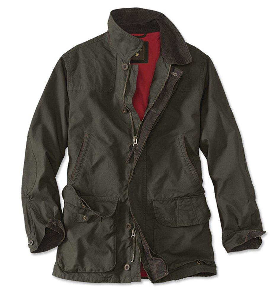 Orvis Men's Heritage Field Coat, Olive, XX Large