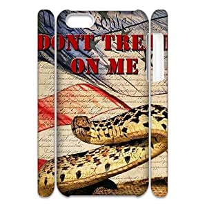 Don't Tread On Me 3D-Printed ZLB521427 Brand New 3D Phone Case for Iphone 5C by lolosakes