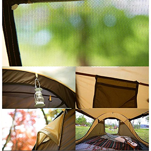 RoseSummer Camping Tent Automatic Speed Open Large 5~6 People Camping Tents by RoseSummer (Image #4)