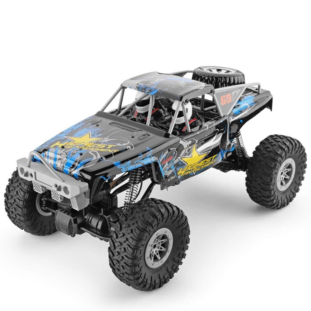 Pinjeer 15キロメートル/ hリモコン四輪駆動クライミングカー1:10高速ビッグフットオフロードプロフェッショナルRCモデルカー電動おもちゃギフト用キッズ12+ B07R4CKG3S