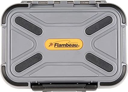 Flambeau Blue Ribbon Waterproof Swing Leaf Fly Box All Sizes Game Fly Fishing