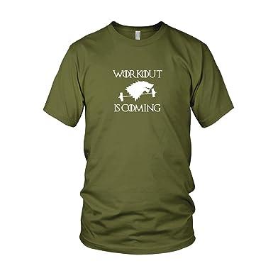 GoT: Workout is Coming - Herren T-Shirt, Größe: S, Farbe