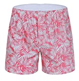 KLJR Men's Funny Print Boxer Shorts Cotton Underwear Boxer two US XL
