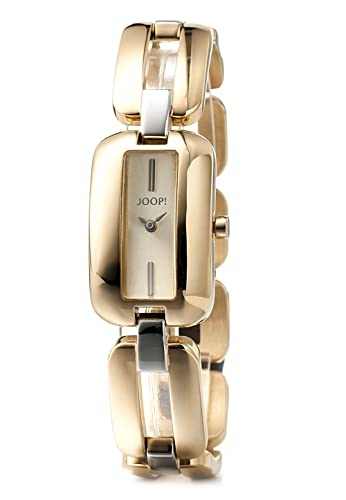 JP101492003 - Reloj para mujer, correa de acero inoxidable, dorado