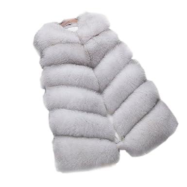 Manteau Et Folobe Veste Vêtements Femme Faux Veste Fur Exx6Cqw