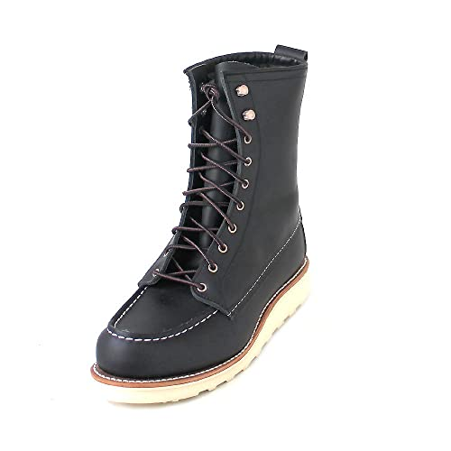 38538a26cda Red Wing Womens 8 Inch Moc 3424 Leather Boots: Amazon.co.uk: Shoes ...