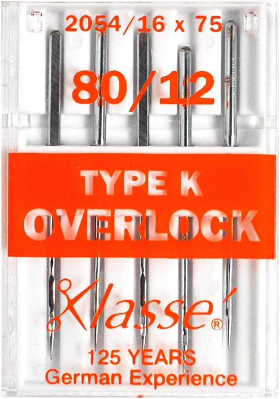 2054 // 16 x 75 Klasse Overlocker Needles Type K