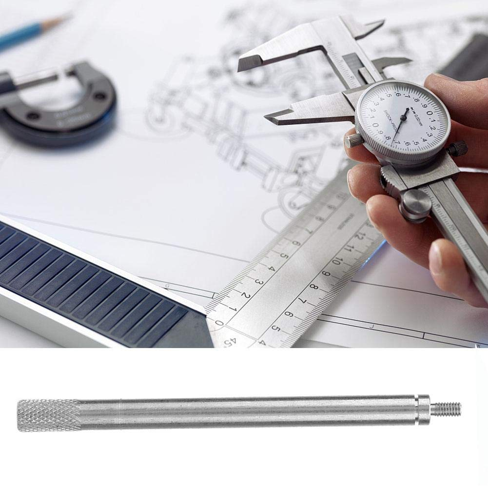 Dial Indicator Extension Rod 2# 2.5mm Thread L65 70 80 90 100 mm Dial Indicator Extension Rod 5mm Diameter Dial Extension Stem
