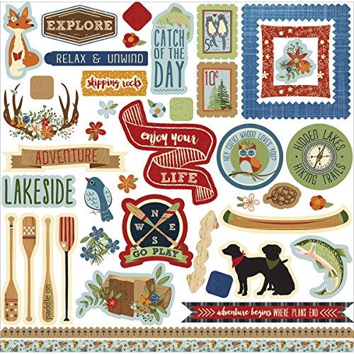 Lakeside Element Stickers - - Lakeside Shopping