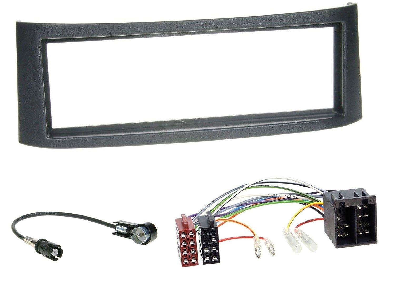 caraudio24 JVC KD-X351BT AUX USB Bluetooth MP3 Autoradio f/ür Smart Roadster 452