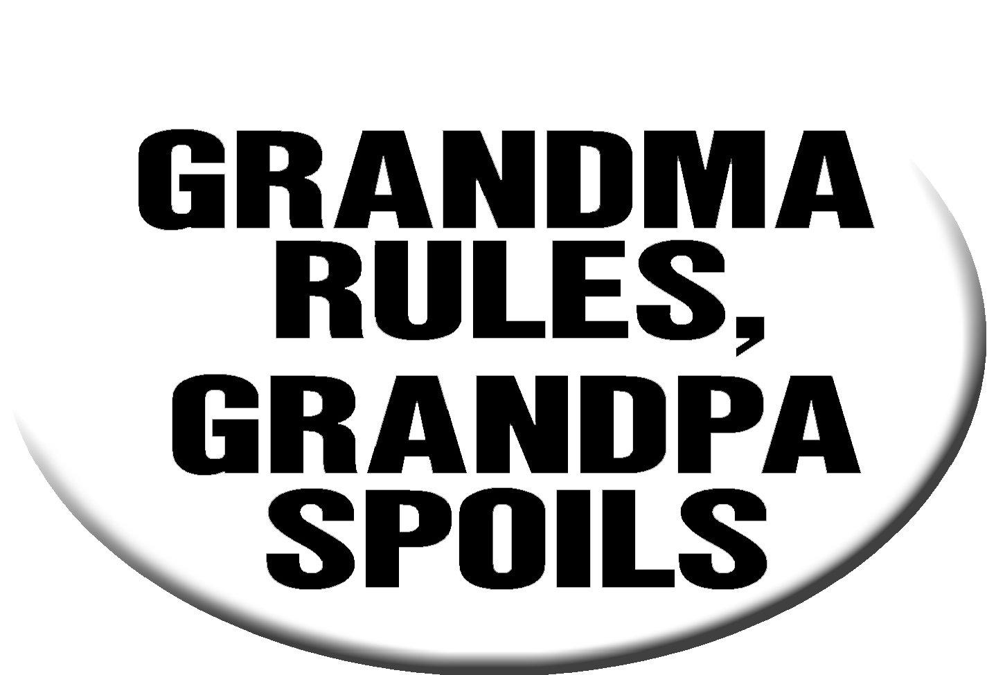 Grandpa Spoils Hitch Cover Grandpa Spoils/' Hitch Cover Knockout 247 Grandma Rules