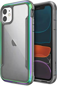 X-Doria Defense Shield, iPhone 11 Pro Max Case - Military Grade Drop Tested, Anodized Aluminum, TPU, and Polycarbonate Protective Case for Apple iPhone 11 Pro Max, (Iridescent)