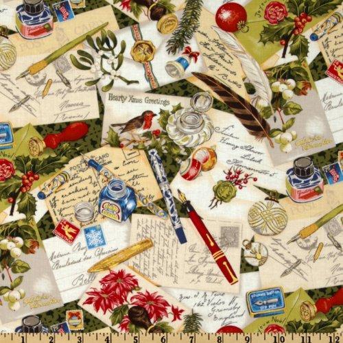 vintage christmas fabric - 6