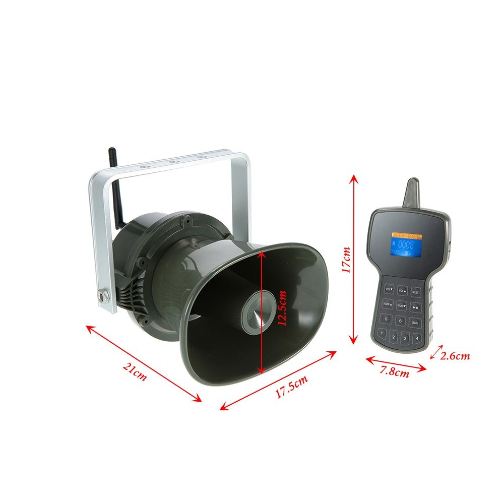 Up Force Electronic Predator Game Call with Two-Way Synchronization Remote Built-in 50W Speaker Powerful Hunting Device by Up Force (Image #6)