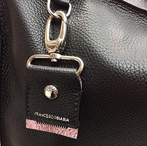 Francesco Biasia , Sac pour femme à porter à l'épaule noir noir
