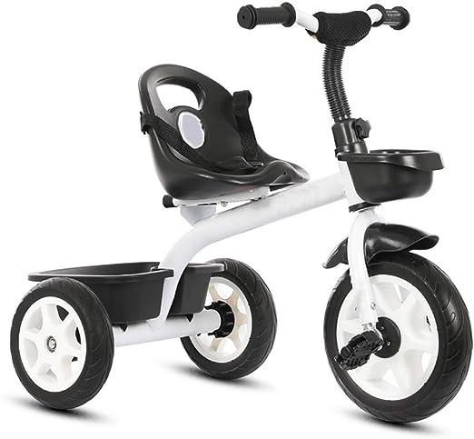 YETC Bicicleta Infantil con Mango de dirección, cinturón de ...