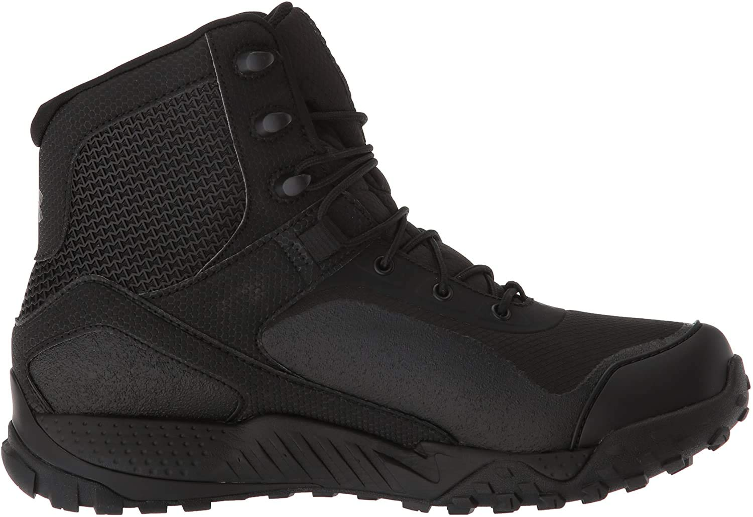 Under Armour Boys' Speedform Slingwrap Military and Tactical Boot Black (002)/White 13