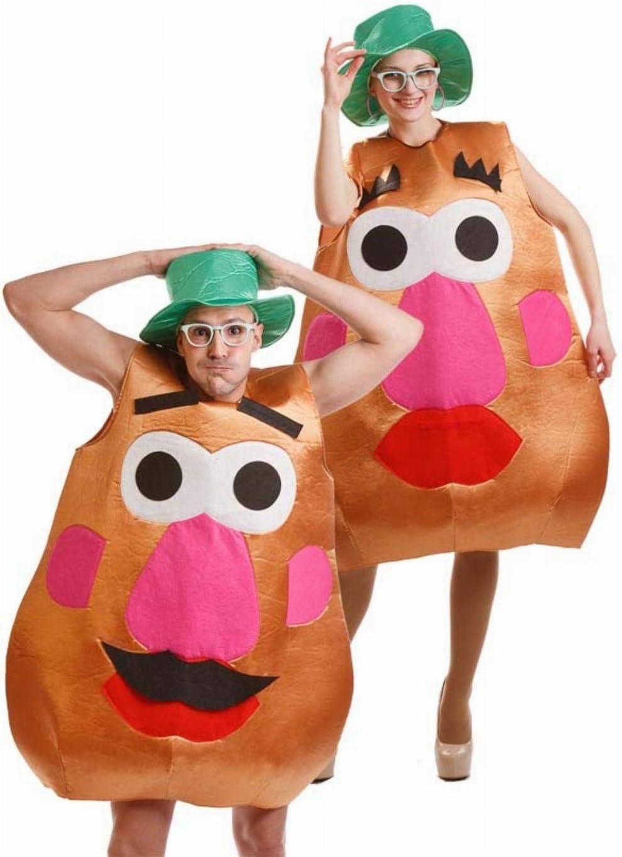 Disfraz de Sr. Cara Patata para adultos: Amazon.es: Juguetes y juegos