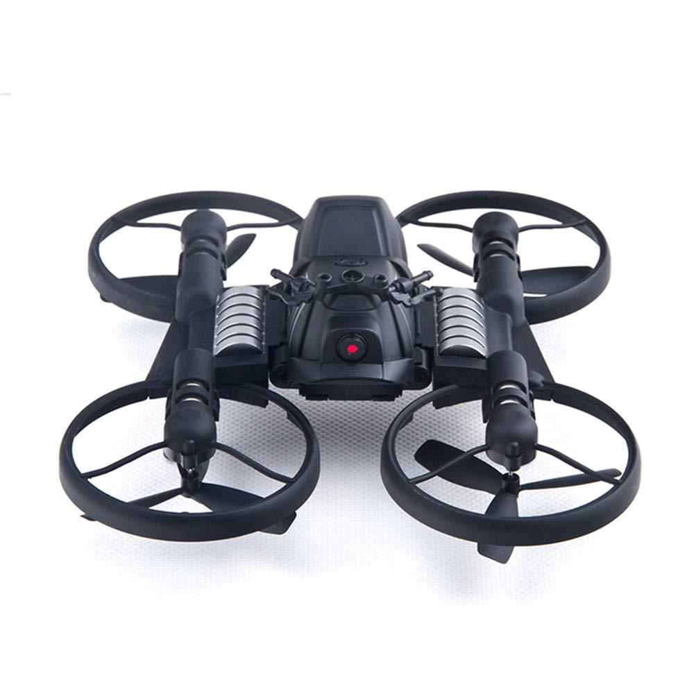 grandes ofertas negro LXWM RC Drones ABS Plastic RC Motocicleta Juguete Juguete Juguete 0.3MP Cámara Control Remoto De 6 Ejes WiFi Quadcopter Drone  mejor moda