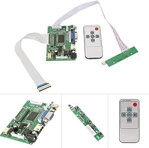 LCD Controller Board, HDMI+VGA+AV LCD Controller Board AT070TN92 AT070TN90 AT070TN94 50Pin 800x480 Screen Monitor Accessories