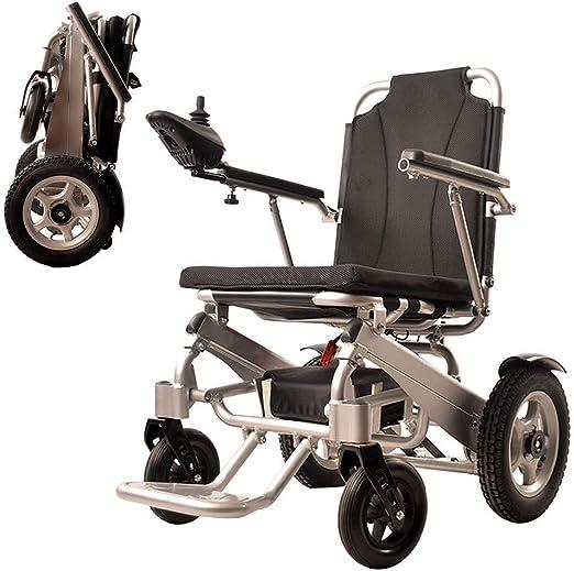 Silla de Ruedas eléctrica Ancianos Discapacitados Luz