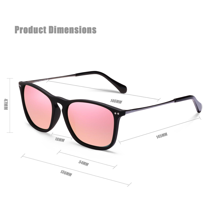 carfia Damen Herren Sonnenbrille Polarisierte Sonnenbrille für das ...