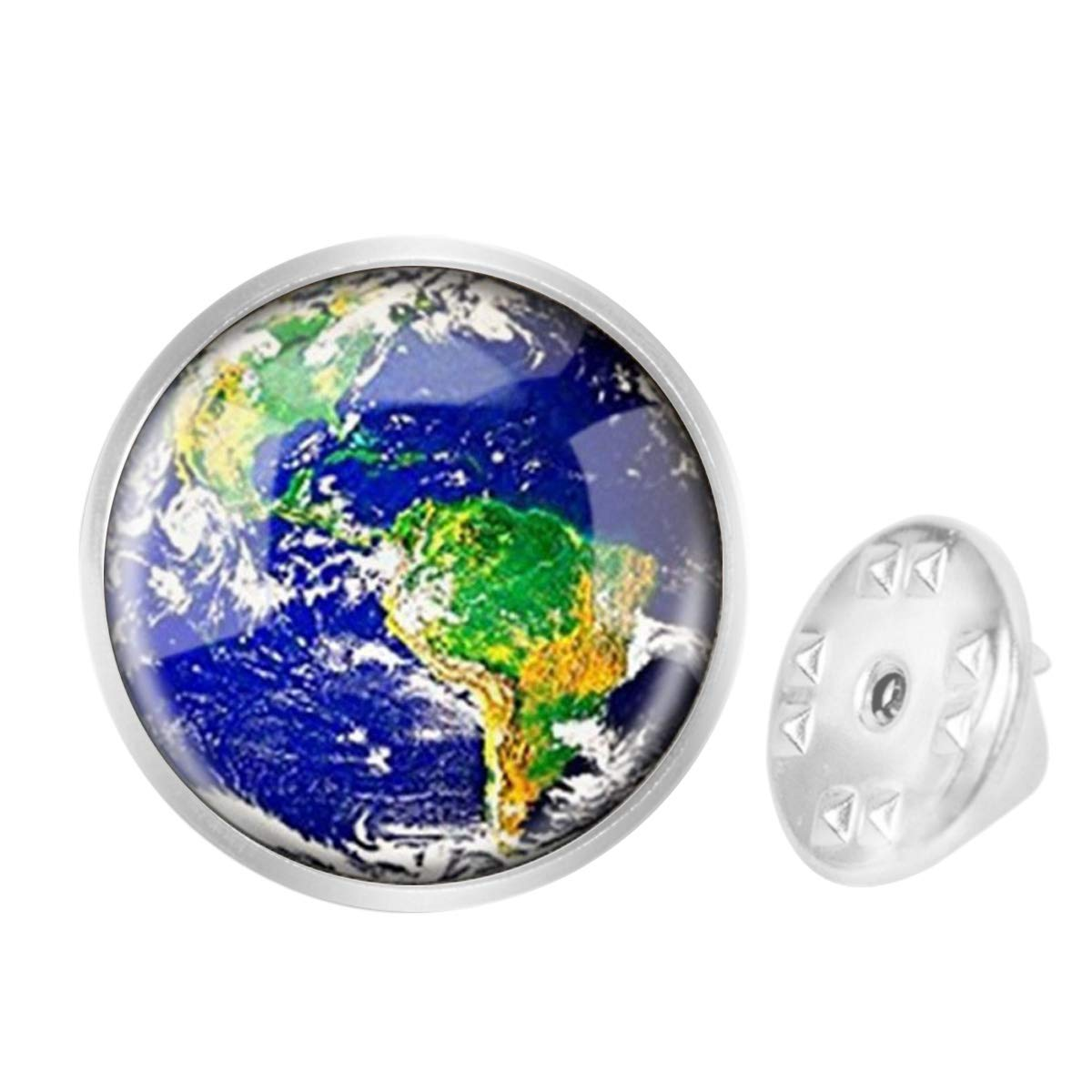 Custom Lapel Pin Brooches The Earth Environmental Protection Theme Banquet Badge Pins Trendy Accessory Jacket T-Shirt Bag Hat Shoe