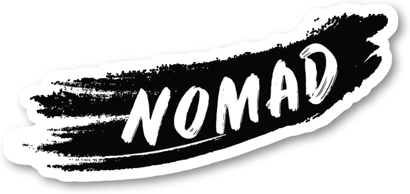 Nomad Sticker Travel Wanderlust Stickers - Laptop Stickers - 2.5 Inches Vinyl Decal - Laptop, Phone, Tablet Vinyl Decal Sticker S214683