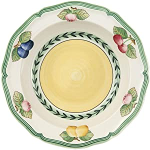 Villeroy & Boch French Garden Fleurence Rim Cereal, 7.75 in, White/Multicolored