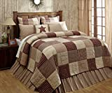 120 quilt backing - Cheston Patchwork Block Quilt (Luxury King)