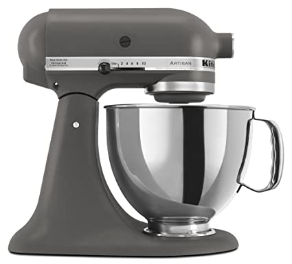 Super Amazon.com: Kitchen Aid Artisan Stand Mixer 5KSM150 Imperial Grey PP-09