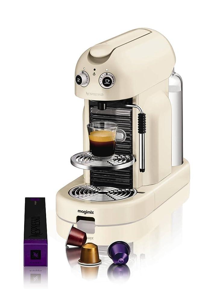 Nespresso Maestria Coffee Machine, Cream by Magimix: Amazon.co.uk ...