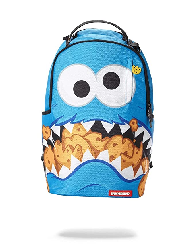 SPRAYGROUND BACKPACK COOKIE MONSTER SHARK