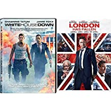 White House Down + London Has Fallen Action Bundle DVD Movie 2 Film Set