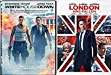 White House Down + London Has Fallen Action Bundle DVD Movie 2 Film Set