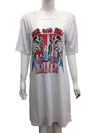Generic Damen Blusen T-Shirt Gr. 36, cremefarben