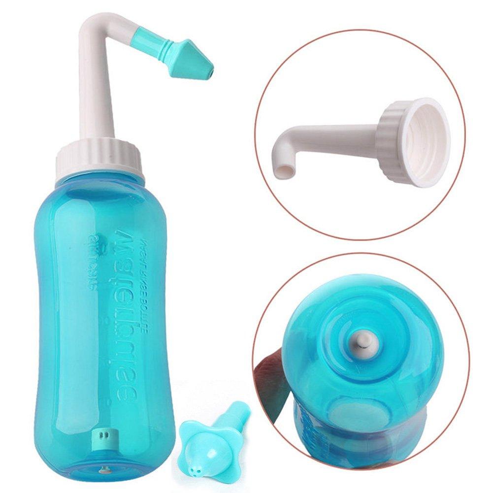 quanjucheer Neti Pot Nasal Nose Wash Detox Sinus Deep Cleaning Rinse Kit for Kids Adults