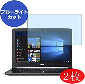 ?2 Pack? Synvy Anti Blue Light Screen Protector for Acer Aspire 7 (A715-72G) 15.6