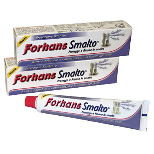 2 opinioni per Forhans Dentifricio Smalto- 75 ml