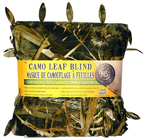 (Hunter's Specialties Camo Leaf Blind Material, Realtree Advantage Max-5, 56