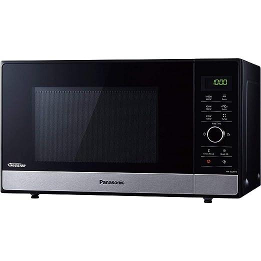 Panasonic - nnsd28hsgtgf - Microondas Inverter 23L 1000 W Negro ...