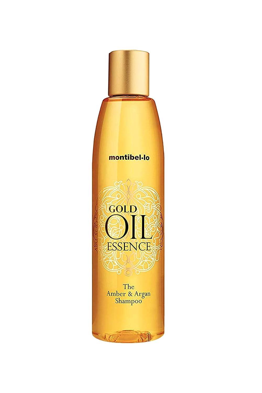 Montibel-Lo Gold Oil Essence Amber y Argan, Champú, 250 ml