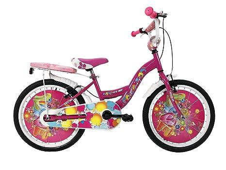 Ibk Bici Bicicletta Bambina Bimba Love Misura 20 Colore Bianco Con Parafanghi