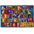 "Mybecca Kids Rug ABC-1 Numbers 8 x 10 Children's Educational Learning Rug 7' feet 2"" inch 10' ft (7'2"" X 10')"