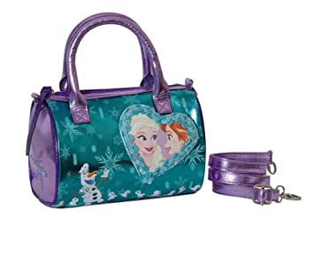cde0e037a7 BORSA bambina FROZEN DISNEY MAGICO CUORE SEVEN bauletto hand bag con  tracolla: Amazon.it: Giochi e giocattoli