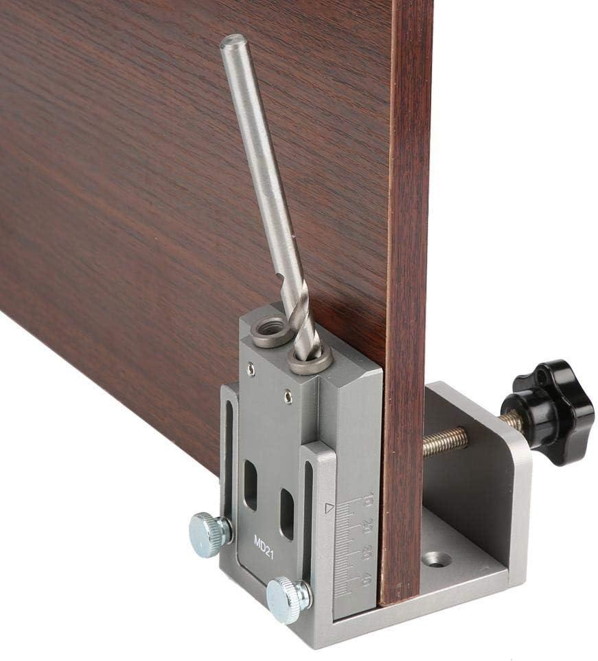Accesorios generales agujero, agujero de bolsillo Jig Kit for trabajar madera Paso Broca Conjunto