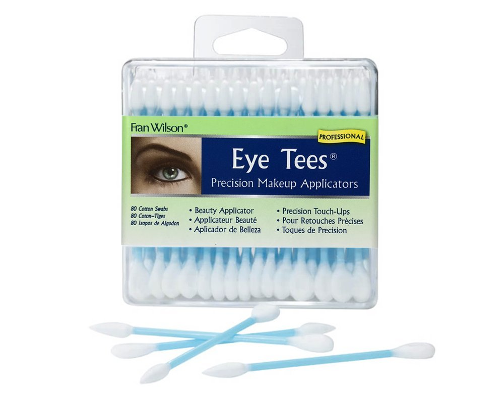 Fran Wilson Eye Tees Precision Applicators, 80-Count