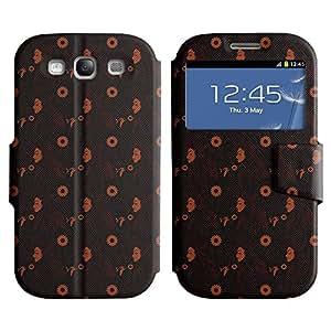 LEOCASE mujer elegante Funda Carcasa Cuero Tapa Case Para Samsung Galaxy S3 I9300 No.1002762