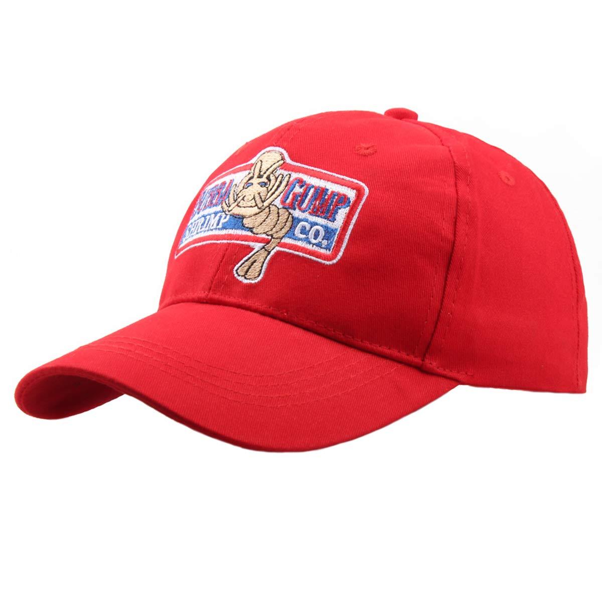 Himozoo Adjustable Bubba Gump Baseball Cap Shrimp Co. Embroidered Snapback Hats